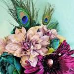 Peacock Wedding Flowers, P..